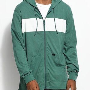 Green/White Men's RVCA Jacket